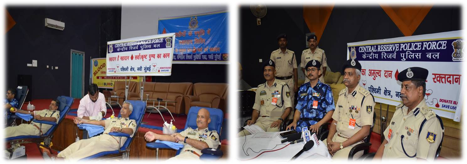 Sh Sanjay A. Lathkar, IPS, IGP WS with officers and personnel in an Interaction meet at WS HQR.
