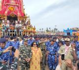 RAF Deployment for jagannath puri & Gujrat rath yatra 2019