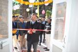 Sh. K.S. Bhandari IG/Director I.S.A. Mt Abu inaugurating the renovated Shekhawati Block