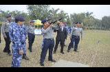 FIRING PRACTICE OF 07 DAYS CROWD CONTROL TRAINING FOR MYANMAR POLICE AT RAPO