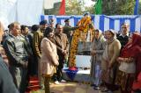 Bust of Shaheed HC/GD Subhash Chander was unveiled at SHS School, Akhnoor