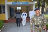 SH.K.DURGA PRASAD,IPS,DGP CRPF VISITING THE SOS MESS.