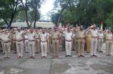 SOS Saluting The National Flag on Independence Day Celebration