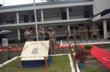 Shri. Vikram Sahgal, IGP. M&N sector hoisting national flag on Independence Day Celebration.