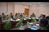 DG CRPF VISIT AT CENTRAL ZONE OFFICE AND 3RD SIGNAL BN ON 21-07-2018 (1)