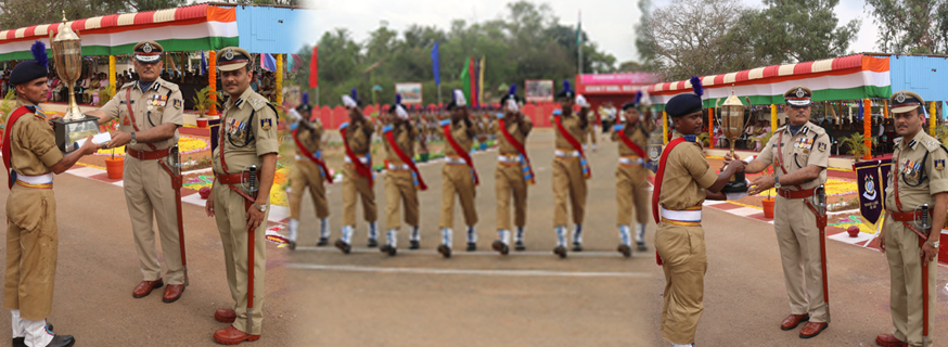 Passing out cum attestation parade ATC Avadi chief guest shri.pankaj kumar ADG South Zone Hyd