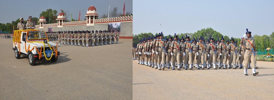 passing out parade ATC Bengaluru chief guest  shri. Pankaj kumar ADG South Zone Hyd