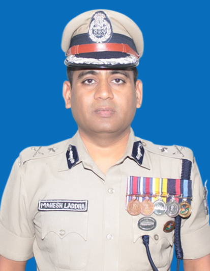 Shri Mahesh Chandra Laddha, IPS