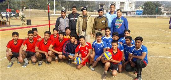 Volley Ball tournament at 137 BN CRPF under C.A.P.