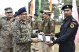 Felicitation Function to Honour Gallantry medal awardees