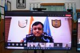 Sh. P.K. Singh, Comdt., 83 RAF in an online indoor session on Systematic Approach to Training Role of Trainer Aim and Objectives of Training.