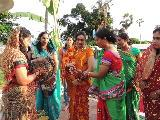 CHATTH FESTIVAL CELEBRATED IN AFRICA BY CRPF FEMALE CONTINGENTS