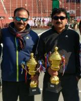 CRPF Duo Manas – Nadeem Clinches doubles trophy in all India Police Tennis Tournament