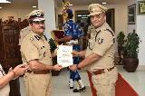Distribution of DG's Commendation Disk and Certificate