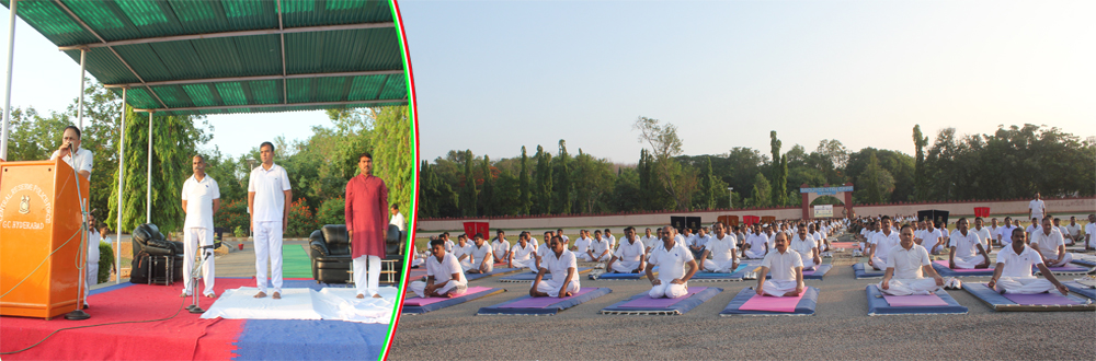 INTERNATIONAL YOGADAY ORGANISED ON 21/06/2016