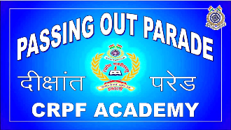 Passing Out Prade of CRPF Directly Appointed Gazetted Officers 51st Batch