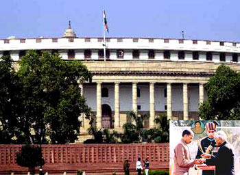 Militant Attack On Indian Parliament Foiled